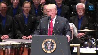 Donald Trump Sings Happy Birthday To Joe Biden funny