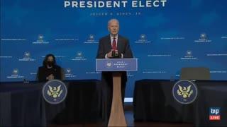 Biden Mispronounces Xavier Becerra's Name
