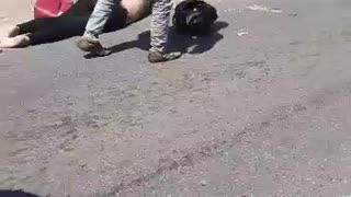 Mujer falleció en accidente en la vía Floridablanca-Piedecuesta