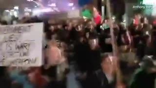 Melbourne, Australia: Massive Protests Against Lockdowns/COVID Restrictions
