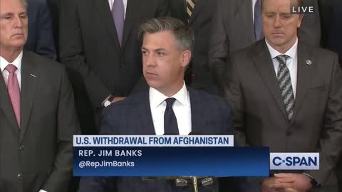 Rep. Banks: The Biden Administration Kowtowed To The Taliban