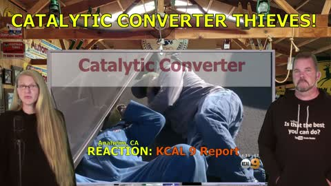 Car Thieves Know The Value Of Catalytic Converters...Beware..