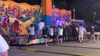 Traverse City Carnival Ride Malfunctions !