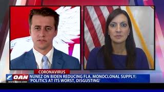 Nunez on Biden reducing Fla. monoclonal supply: 'Politics at its worst, disgusting'