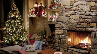 Decorated warm home