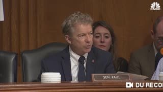 Rand Paul Proving Dr. Fauci Lied About Gain of Function