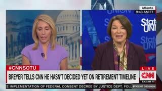 Klobuchar: Breyer should retire sooner rather than later