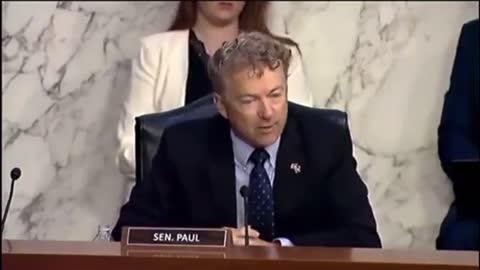 Senator Rand Paul NUKES HHS Secretary Xavier Becerra