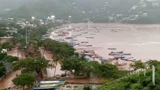 inundaciones en Santa Marta