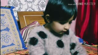 cute amaira talking with her mother