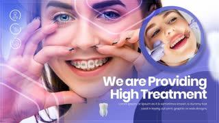 Dental Clinic Center Slideshow | free after effect template