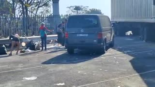 Durban community comes together for mass clean-up after looting