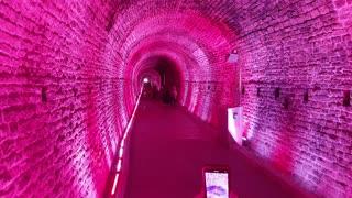 Canada's first train tunnel
