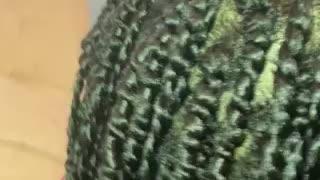 Fat twist with 2 strand twists