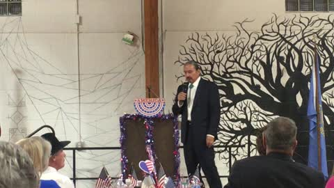 From the Campaign Trail: Bruce Whalen at the Fall River County Lincoln Day Dinner