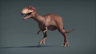 Dinosaur cartoon video