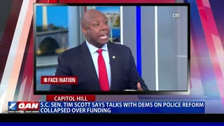 S.C. Sen. Tim Scott says talks with Democrats on police reform collapsed over funding