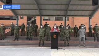 Ministro de Defensa de Colombia Carlos Holmes