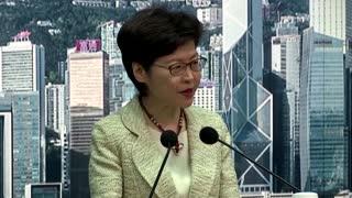 Hong Kong leader eyes 'fake news' laws