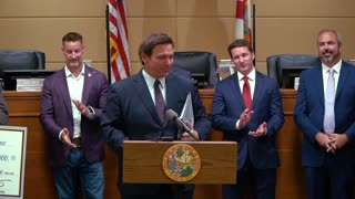 Governor Ron DeSantis Announces $1.69 Million to the City of North Port