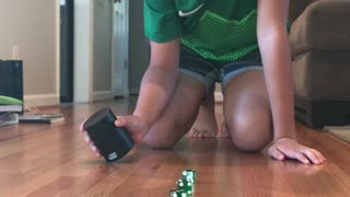 Cool Dice Stack With Green Dice