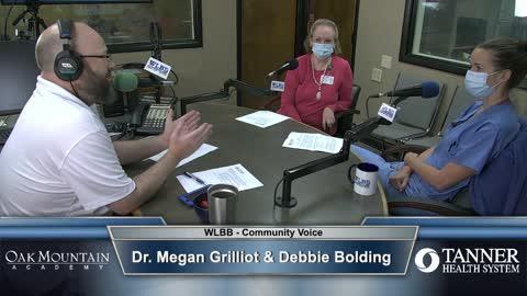 Community Voice 8/4/21 - Dr. Megan Grilliot & Debbie Bolding