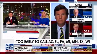 Tucker Carlson Calls Out the Media on Election Night