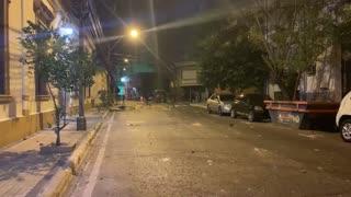 Manifestantes piden renuncia de presidente Abdo Benítez tras batalla campal en Asunción