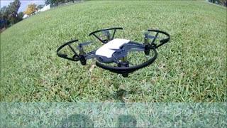 Tello drone flying
