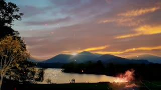 Mystic Mountain Camp ⛰ Fire..