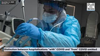 As U.S. sees 'record' COVID hospital numbers, it's unclear how many are strictly COVID patients