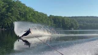 Water Skiing on Deep Creek Lake