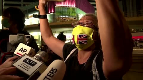 Scuffles as Hong Kong bans Tiananmen vigil