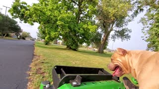 Mowing with Legend