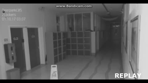 Ghost caught on camera?