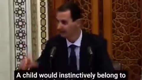Bullseye! Syria's leader, Assad, speaks about the morally destructive nature of Neo-liberalism.