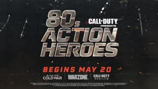80s Action Heroes Trailer | Season Three | Call of Duty®: Black Ops Cold War & Warzone™!