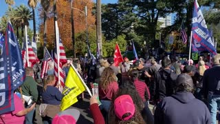 StopTheSteal _ California State Capitol Protest Sacramento, CA Week 4 November 28, 2020 IMG 2806