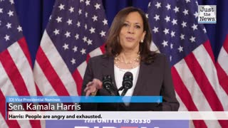 Harris: People are angry and exhausted.