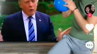 Donald trump wig
