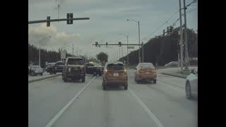 Police Chase (Atlantic Ave in Delray Beach FL)