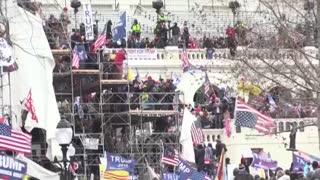 Se buscan los responsables del ataque al Capitolio