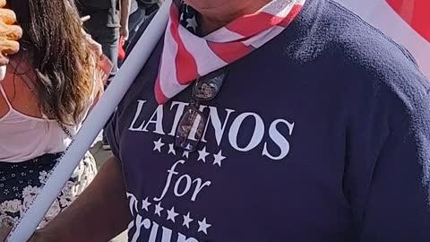 Latino for Trump gives warning in spanish
