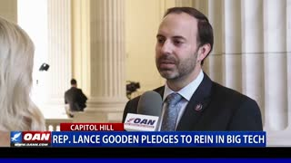 Rep. Lance Gooden pledges to rein in Big Tech