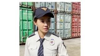 police girl funny video 4u