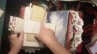 Junk Journal Bellyband foldouts #3