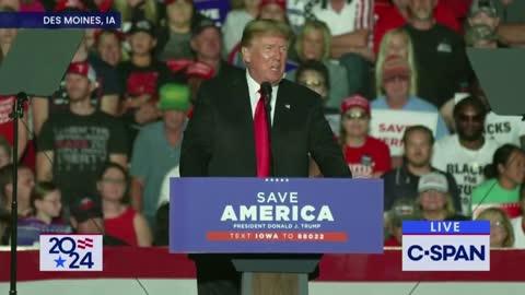 Donald Trump at Rally: Democrat's Sinister Spending Bill Will Destroy America