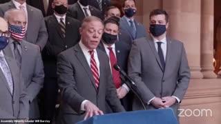 NY Lawmakers Announce Impeachment Of Cuomo