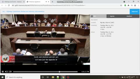 Legislature hearings on ARDOT I40 bridge FAIL, Clinton, other leaders failed us
