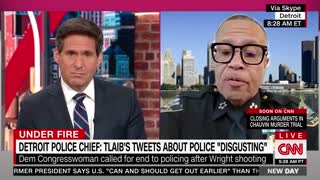 Detroit Police Chief CLAPS BACK at Democrats Calling to End Policing